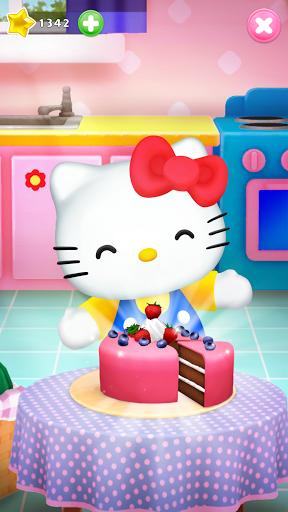 Talking Hello Kitty - Virtual pet game for kids  screenshots 2