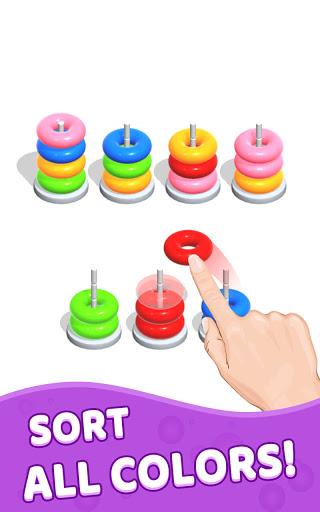 Color Hoop Stack - Sort Puzzle 1.1.2 screenshots 9