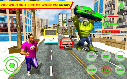 Unbelievable Superhero monster fighting games 2020 1.1 screenshots 1