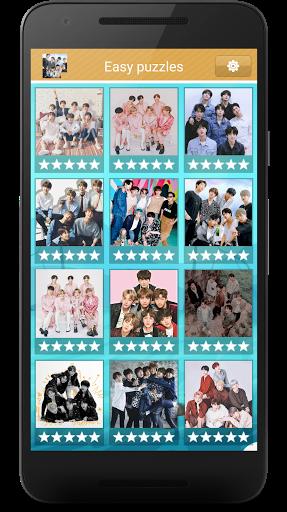BTS Slide Puzzle Game  screenshots 1