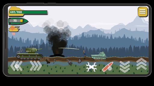 Tank Battle War 2d: game free 1.0.4.3 screenshots 6