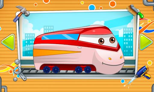 Mechanic : repair of trains android2mod screenshots 1