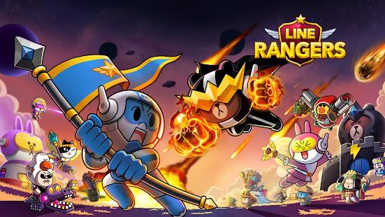LINE Rangers - a tower defense RPG w/Brown