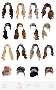 Girls Hair Changer ud83dudc78ud83cudffcud83dudc78ud83cudffb 1.8.8 Screenshots 8