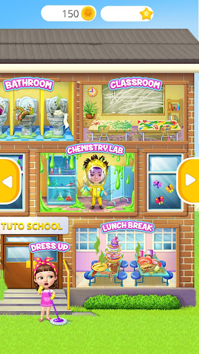 Sweet Baby Girl Cleanup 6 - School Cleaning Game 4.0.20003 screenshots 1