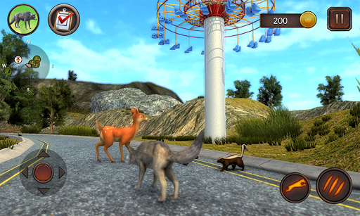 Wolf Dog Simulator 1.0.6 screenshots 2