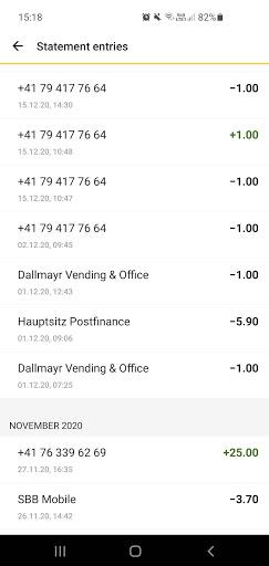 PostFinance TWINT 2.6.33.0 Screenshots 5