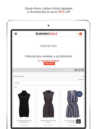 RunwaySale modavailable screenshots 7