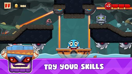 Ball's Journey 6 - Red Bounce Ball Heroes screenshots 13
