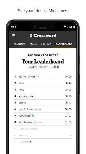 NYTimes - Crossword 4.5.0 screenshots 4