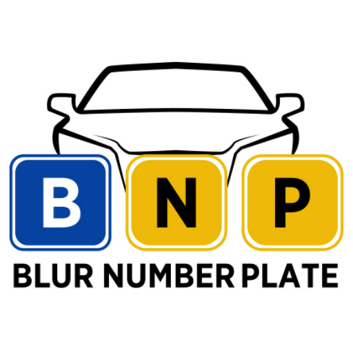 Blur Number Plate