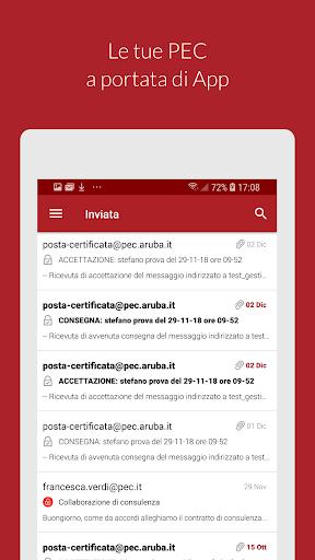 Aruba PEC Mobile apktram screenshots 1