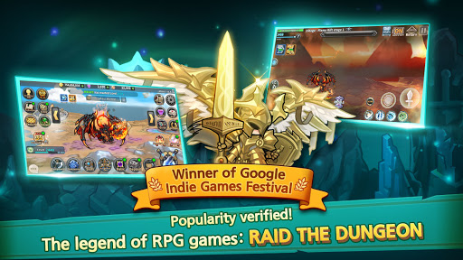 Raid the Dungeon : Idle RPG Heroes AFK or Tap Tap 1.10.2 screenshots 9