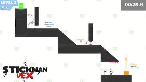 Stickman Impaled:Stick Parkour Platformer  screenshots 1