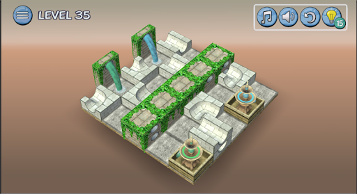 Flow Water Fountain 3D Puzzle 1.2 Screenshots 20