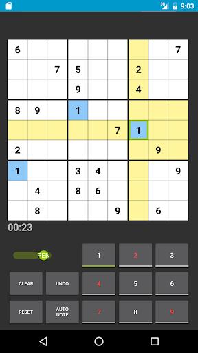 Sudoku 1.1.19b screenshots 2