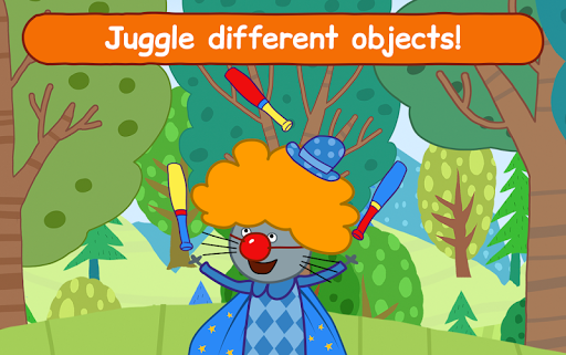 Kid-E-Cats Circus Games! Three Cats for Children  screenshots 20