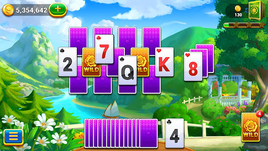 Solitaire Master - Tripeaks Garden Free Card Game