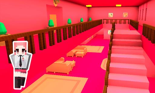 Pink Princess House Craft Game 2.7 screenshots 11