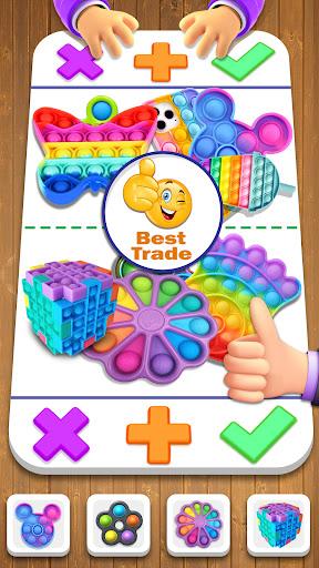 Fidget Trading! Pop It & Sensory Fidget Games 2021  screenshots 1