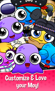 Moy 5 - Virtual Pet Game Screenshot