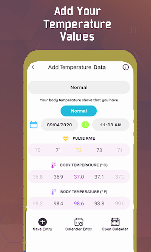 Thermometer For Fever - Body Temperature modavailable screenshots 2