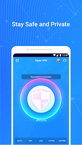 Super VPN - Free, Fast, Secure & Unlimited Proxy 1.2.5 (Premium) (Armeabi-v7a)