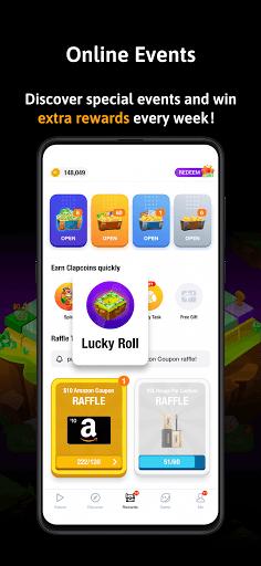 ClipClaps - Reward your interest apkdebit screenshots 5