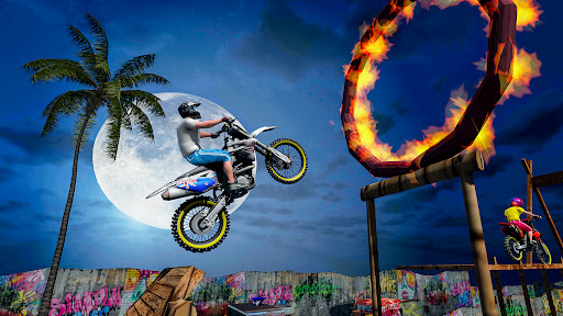 Stunt Bike 3D Race - Bike Racing Games apkpoly screenshots 5