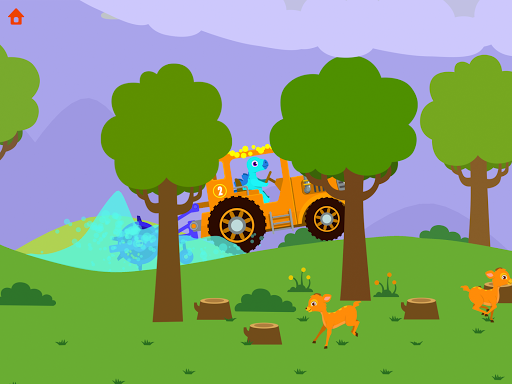 Dinosaur Farm - Tractor simulator games for kids screenshots 19