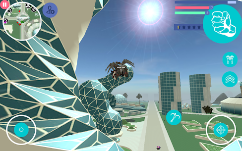 Spider Robot Mod Apk (Unlimited Money/God Mode) 2