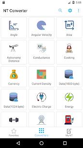 NT Converter – Unit Converter Premium MOD APK 2