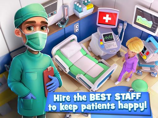 Dream Hospital - Health Care Manager Simulator apkpoly screenshots 13
