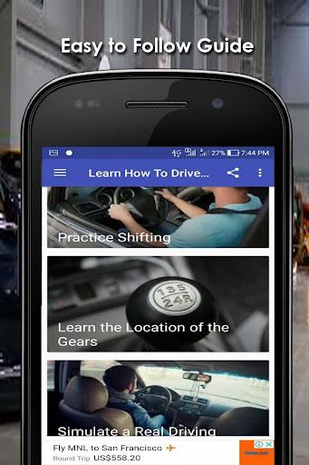 Learn How To Drive : Manual Car  Paidproapk.com 1