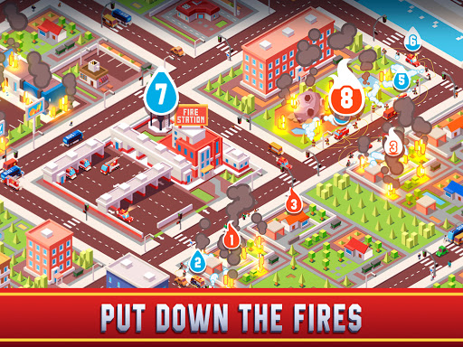 Idle Firefighter Empire Tycoon - Management Game modavailable screenshots 16
