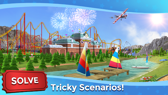 RollerCoaster Tycoon Touch - Build your Theme Park Screenshot