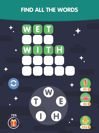 Word Search Sea: Unscramble words screenshots 17