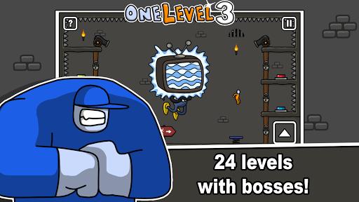 One Level 3: Stickman Jailbreak 1.8 Screenshots 15