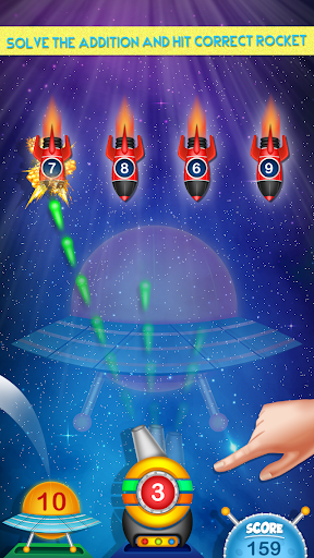 Galaxy Addition And Subtraction  screenshots 1