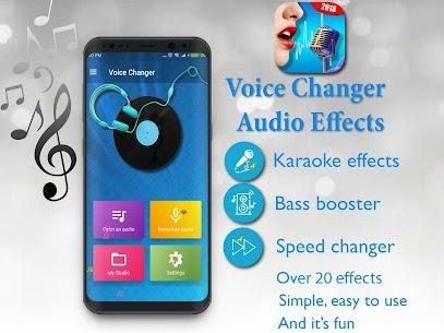 Voice Changer – Audio Effects 9