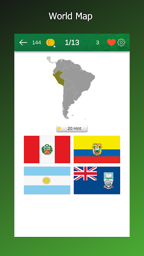 Flag Quiz - Learn All Country Flags of the World 1.0.4.51 screenshots 1