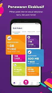 AXISNET u2013 Cek & Beli Kuota, Promo Paket Internet 7.9.0 Screenshots 3