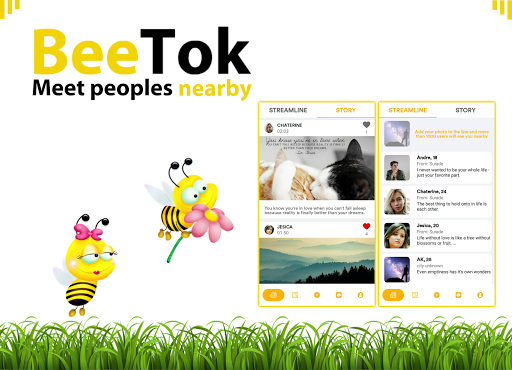 BeeTok : Bee talk and we chat, meet me date nearby 2.0.9 Screenshots 1