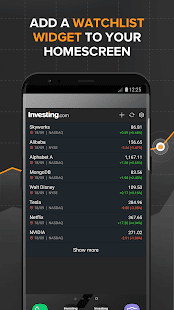 Investing.com: Stocks, Finance, Markets & News Screenshot