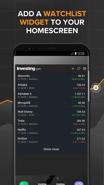 Investing.com: Stocks, Finance, Markets & News  poster 6