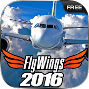 Flight Simulator 2016 FlyWings Free