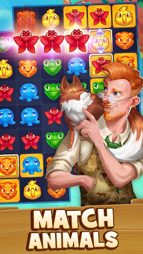 Animal Drop u2013 Free Match 3 Puzzle Game modavailable screenshots 1