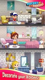 Pocket Family Dreams: Build My Virtual Home 1.1.4.15 MOD APK [INFINITE MONEY] 2
