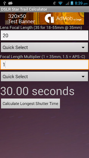 Star Trail Calculator For PC Windows (7, 8, 10, 10X) & Mac Computer Image Number- 8