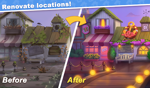 Town Blast: City Restoration - Blast Game & Puzzle 0.31.1 screenshots 1
